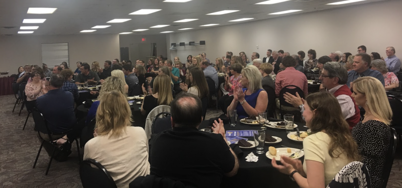 It is a West Plains Noon Club Rotary tradition to sponsor the annual West Plains High School Summa Cum Laude dinner. Students who score in the top tenth percentile of the graduating senior class are formally recognized for their achievements.